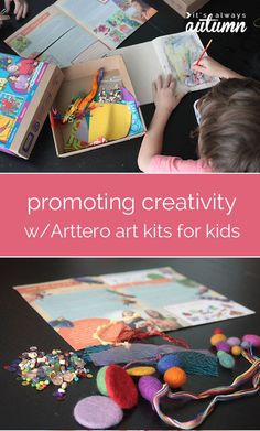 great way to help promote creativity in your kids - eco friendly art kits! Click through for a chance to win 3 full kits of your choice.