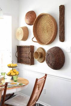 A Wall Of Baskets