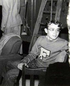 A 19 year-old James Dean -at Santa...Monica collage