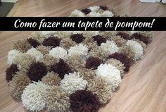 Um tapete super fofo e fácil de ser feito! Aprenda nesse vídeo como você mesma pode fazer essa fofura na sua casa!