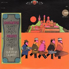 Groove is in the Art celebrates the era when psychedelic graphics and pop art met the mainstream on instrumental and classical album covers in an explosion of line art and color.