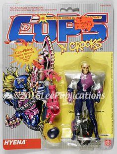 1988 Hasbro vintage COPS 'N Crooks Hyena MOC C.O.P.S. #Hasbro