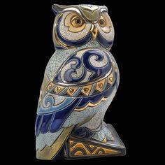 Royal Owl Sculpture De Rosa Artesania Rinconada