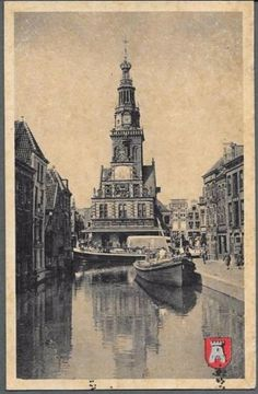 Alkmaar The Netherlands Big Ben, Slot, Beautiful Places, Building, Photos, Painting, Travel, Pictures, Viajes