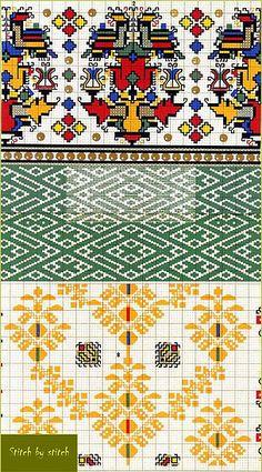 Українські традиційні орнаменти Схема вишивки жіноча сорочка