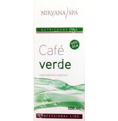 Café Verde es un complemento alimenticio come-grasas, de Nirvana Spa. http://www.tucosmetica.es/producto/cafe-verde-500ml/ #celulitis