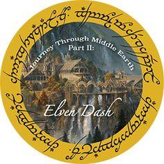 Make YES! Happen   Journey Through Middle Earth Part 2: Elven Dash Virtual Race
