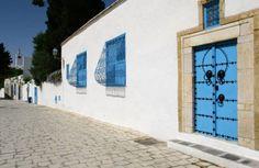 Foto: Sidi Bou Said es todo en blanco y azul. (Foto: Turismo de Túnez)