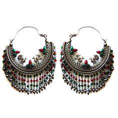 Certified tribal silver jewelry Antique Looking Dangle earring Xmas gift #viditajewels