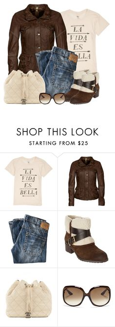 """Untitled #1176"" by gallant81 ❤ liked on Polyvore featuring Billabong, Milestone, 1921, Charles by Charles David, Chanel and Christian Dior"