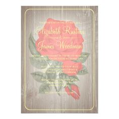 See MoreRed & Gold Rustic Floral Wedding Invitations Custom Invitationwe are given they also recommend where is the best to buy