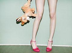 Paper Collective x Julie Pike – Bambi and heels