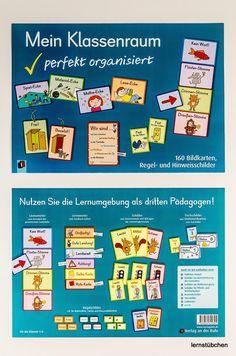 """Ich persönlich finde das   Material """"Mein Klassenraum perfekt organisiert""""   vom Verlag an der Ruhr  ganz großartig!         Und so setzt i..."""
