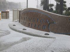 Hail turns Southern California beach cities white | abc7.com