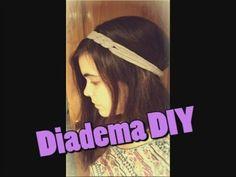 DIY: Diadema nueva de una camiseta vieja!!