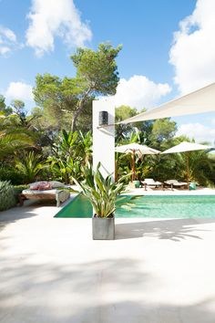 Ibiza summerhouse with a pool