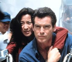 Michelle Yeoh and Pierce Brosnan - Tomorrow Never Dies