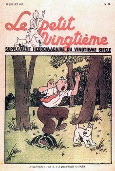 """Le petit """"vingtième"""" - Attention ! ici il y a des pièges à loups"""