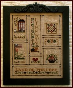 Heart of America - Little House Needleworks - working on this now.