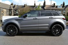 MY DREAM CARRR! Gray Matte Range Rover Evoque!!