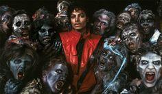 Thriller - Michael Jackson, Letra y video de la canción