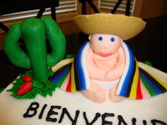 Mexican Baby Shower Cake