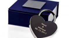 Gagnez un cadenas en forme de cœur avec gravure pour la Saint Valentin !