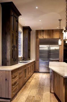 Kitchen - contemporary - kitchen - chicago - Mark Hickman Homes