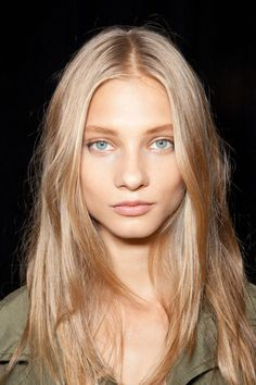 Anna Selezneva Blonde Hair, Hari's Salon Chelsea, Highlighted Hair, Summer Hair,