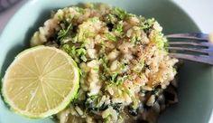 Vega: Risotto met limoen, courgette en spinazie | Gewoon wat een studentje 's avonds eet | Bloglovin'