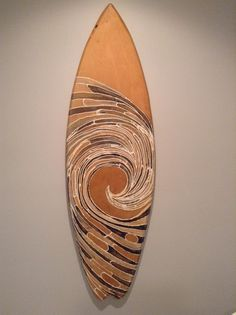 Painted Surfboard - Painted Surf Board - Wood Surfboard - Wood Surf Board…