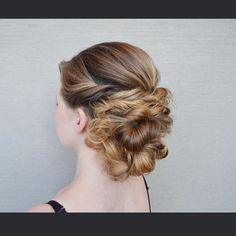 This can be done in 5-10 minutes with no curling iron.  Find out how at a KellGrace seminar/show. (2016 updo tour will be posted so soooon!!)