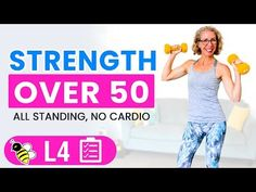 50 Minute Standing STRENGTH TRAINING Workout for Women over 50 💛 Pahla B Fitness