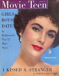 Elizabeth Taylor, Movie Teen January 1952