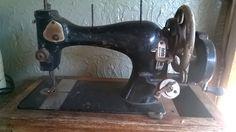 vintage Sewing machine - Foto: KP