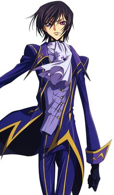 Lelouch Lamperouge---best character in anime history!