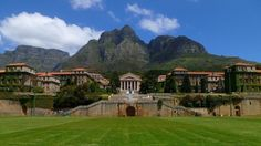roam around the epic grounds of the University of Cape Town