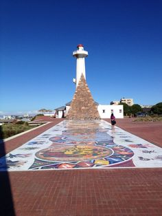 The Donkin Reserve and tourism office.