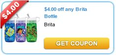 ****New $4.00 off any Brita Bottle + Possible Freebie at Target!**** - Krazy Coupon Club