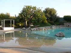 The pool of Masseria Borgo San Marco, Puglia, Italy