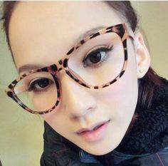 Armação Óculos Grau Retrô Grande Leopard Skin - R  25,00 no MercadoLivre 4f069862cc
