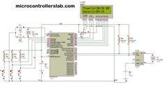 digital clock ds1307 circuit & project using pic microcontroller Electronics Basics, Electronics Projects, Arduino, Microcontrolador Pic, Pic Microcontroller, Real Time Clock, Clock Tattoo Design, Block Diagram, Circuit Projects
