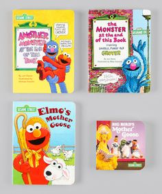 Take a look at this Mother Goose & More Board Book Set by Sesame Street on #zulily today!