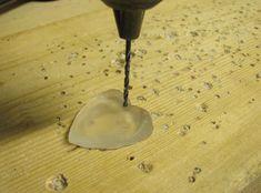 drilling resin pendant