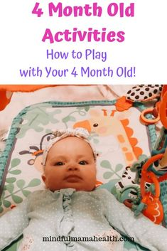 Baby Milestones at 4 Months - Mindful Mama Health. Complete guide to 4 month old developmental milestones. Plus, developmental activities for 4 month olds. Development Milestones, Baby Development, Baby Milestones, 20 Month Old Milestones, Language Development, 4 Month Old Baby Activities, Newborn Activities, 2 Month Old Baby, Baby At 4 Months
