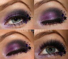 Deep purple with stars!