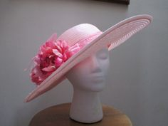 Pink Easter Wedding Kentucky Derby Hat on Etsy, $50.00
