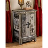 www.designtoscano.com - For those of you that love all things Medieval...this is a great website - Gothic Sanctuary Side Table Cabinet