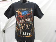 Aerosmith Concert T-shirt Size Medium Black Short Sleeve Shirt Anvil 2005 2006 Tour - http://raise.bid/store/clothing/aerosmith-concert-medium/