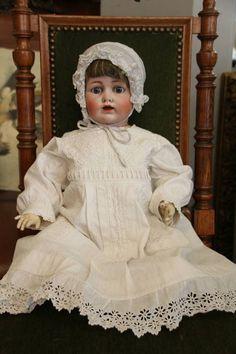 Antique 1800s JDK Kestner bisque doll, German antique bisque doll, JDK Kestner doll, Bisque doll, German vintage bisque doll, Antique Doll